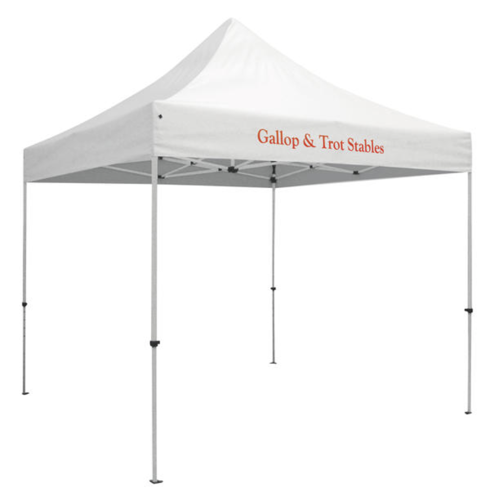 1 location- full color print- 10' x 10'- canopy- tent- kit-10' x 10' canopy tent kit- local- display- outdoor display- VA- trade show- Undercover Printer