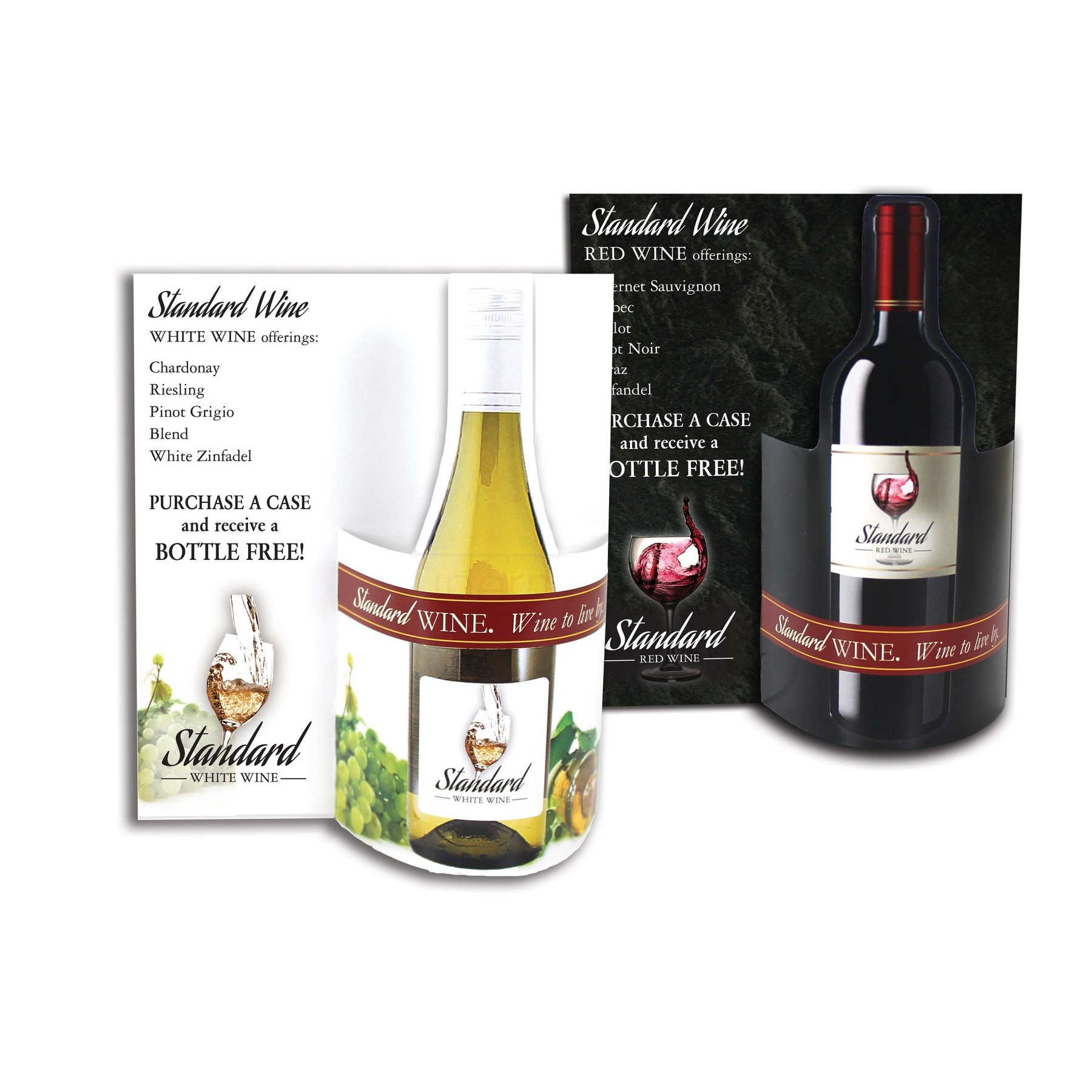 table tent for wine or winery